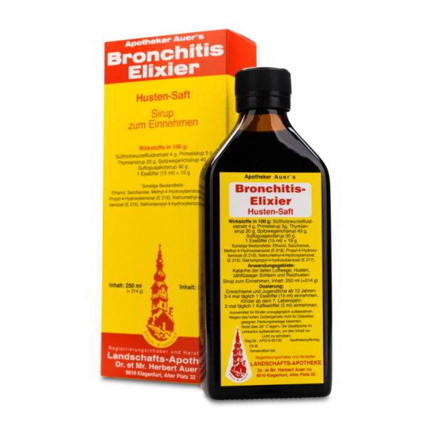 Apotheker Auer's Bronchitis-Elixier Husten-Saft