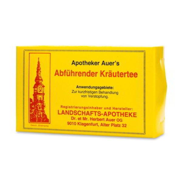Apotheker Auer's Abführender Kräutertee
